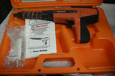 Ramset/Red Head D45A Powder Actuated Fastening Tool in Orange Hard Case