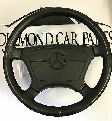 2000 Mercedes W210 E Class Leather Steering Wheel With Airbag