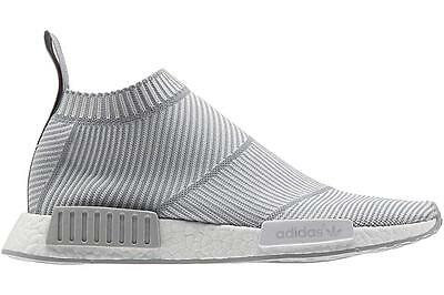 Adidas Nmd_Cs1 City Sock Primeknit Boost  Style S32191 White/grey