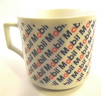 Vintage Mobil Oil Coffee Mug