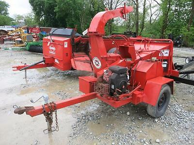 Morbark Tow Behind Wood Chipper, 10.5'' Grinder, 1600 Hours, Kohler Gas Engine
