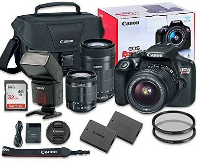 Canon EOS Rebel T6 Digital Camera Bundle with EF-S 18-55mm f/3.5-5.6 IS II Lens