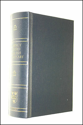 Compact Oxford English Dictionary (Third Edition Revised) by Catherine Soanes (e