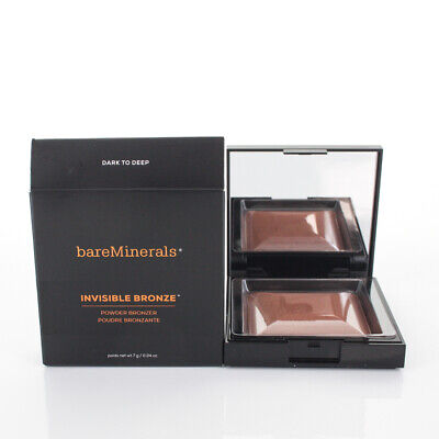 BareMinerals Invisible Bronze Powder Bronzer Dark To Deep 0.24oz/7g NEW IN BOX