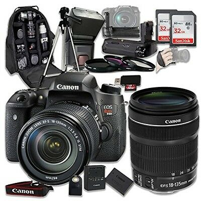 Canon EOS Digital Rebel T6s 24.2MP SLR Digital Camera with Canon EF-S 18-135mm