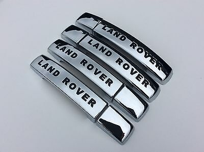 Landrover Discovery 3,chrome Door Handle Covers,2004-09.