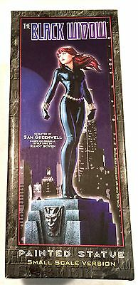 """MARVEL DESIGN """"THE BLACK WIDOW"""" PAINTED STATUE by GREENWELL & BOWEN NEW IN BOX"""