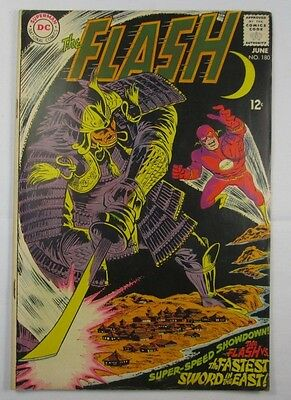 The Flash Comic Vintage #180 1967 Very Good Vintage Condition