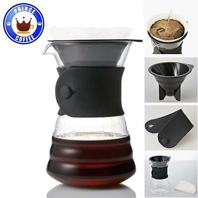 Hario V60 Drip Decanter Pour Over Coffee Maker VDD-02B 700ml for 1-4 Cups