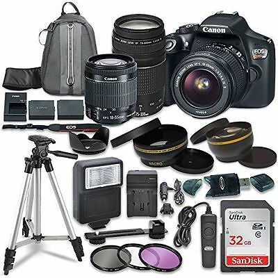 Canon EOS Rebel T6 Digital SLR Camera with Canon EF-S 18-55mm IS STM Lens