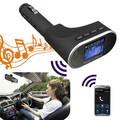 Wireless Bluetooth FM Transmitter MP3 Player Car Charger For Samsung Galaxy S8+