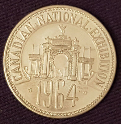 1964 - Canadian National Exhibition - Cne- Token / Coin - Original