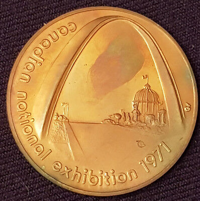 1971 - Canadian National Exhibition - Cne- Token / Coin - Original