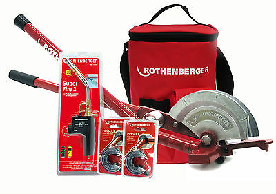 Rothenberger Superfire 2 Kit With Multibender And Pipeslice Hotbag Deal