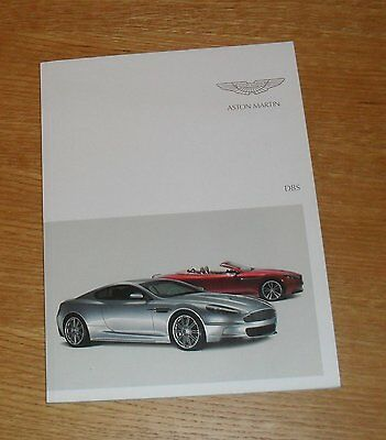 Aston Martin DBS Brochure 2009-2012 - Coupe & Volante - UK Market