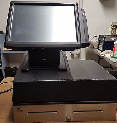 Pos System With Cash Drawer & 7 Printers