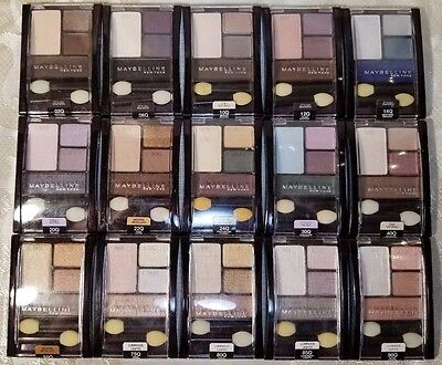 BUY 2 GET 1 FREE! (Add 3 To Cart) Maybelline Expert Wear Quad Eyeshadow (CHOOSE)