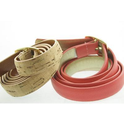 Style&Co. Women's Belt Dress Medium CORAL, Natural New Genuine Leather LAFO