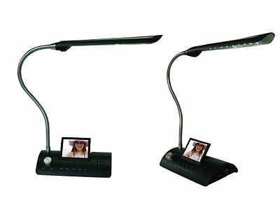 RSPA-CD358LD-Sungale CD358LD 3.5-Inch Desk Lamp Digital Photo Frame (Black)