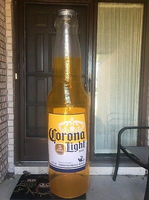 CORONA Light NEW BEER BOTTLE 6ft TALL INFLATABLE BLOW UP SIGN