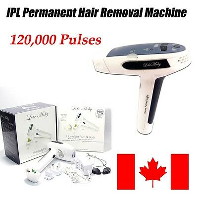 Laser IPL Permanent Safe Hair Removal Machine For Face&Body 120,000 Pulses