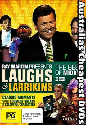 Ray Martin Presents Laughs And Larrikins DVD NEW, FREE POST IN AUST REG 4