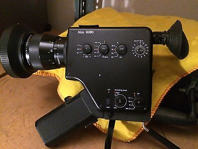Nizo 6080 super 8mm movie camera