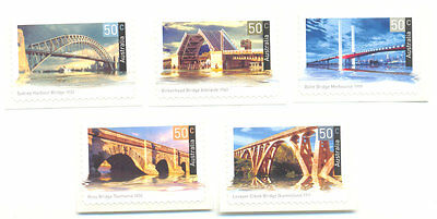 Bridges mnh self-adhesive set - Australia