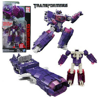 Transformers Generations Combiner Wars Legends Class Shockwave 9CM New in Box