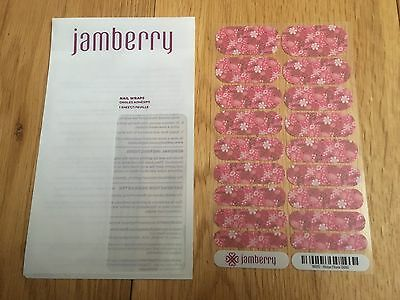 Jamberry Nail Wrap set - ROSA FLORA!!! - New And Sealed.