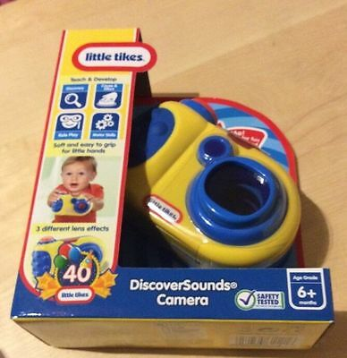Little Tikes DiscoverSounds Camera For 6 Months +
