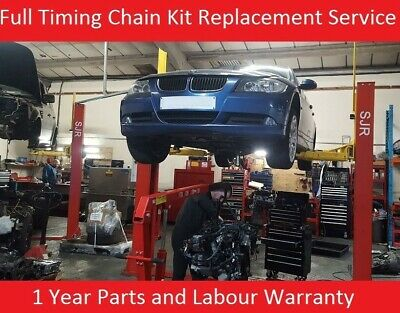 Bmw 3 Series 2.0 Diesel N47D20A 2007 - 2011 Timing Chain Kit Replacement