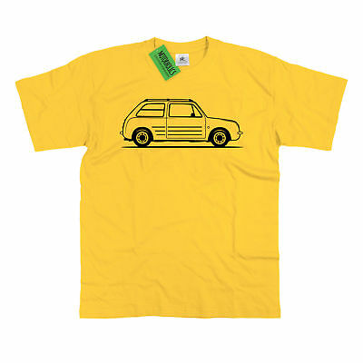 Men's Original Sketch Nissan Pao T-Shirt S – 5XL Retro Classic JDM Kei Car Pike