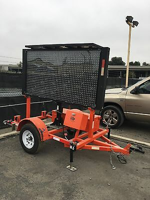 2015 Message Board Solar Powered Traffic Control Sign Hsp Model 96L 3