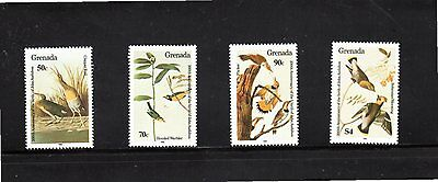 Grenada 1985 Centenary Birth of John Audubon SG 1378/81 MUH