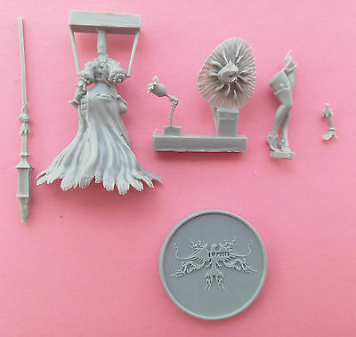 30mm resin kingdom death Disciple of the Witch-One Unpainted Unbuild Z032