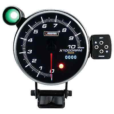 Prosport 4 1/2in Rev counter Display Instrument speedometer gauge programmable
