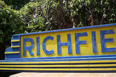 Richfield Gas  Huge 0ver 7 feet wide.. One of a kind!