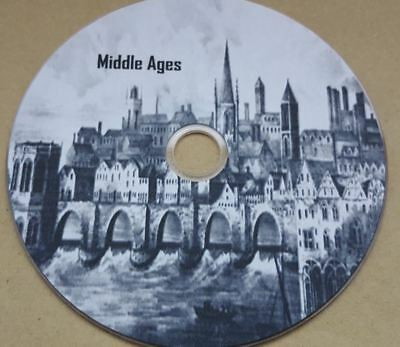 History ebooks, Britain the middle ages 70 files in kindle & pdf format on disc