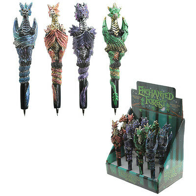One Random Dragon Themed Pen - Gift Idea - Pens - Dragons - New - Gothic - Myth