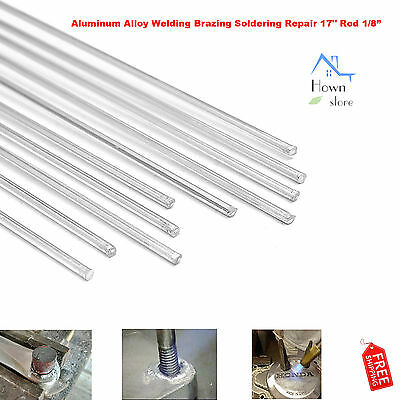 "Aluminum Alloy Welding Brazing Soldering Repair 17"" Rod Cracks Polish Boat 10pcs"