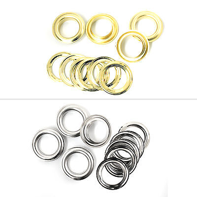 17mm Eyelets with Washers for Tarpaulin Banners Curtain Clothing Arts & Crafts