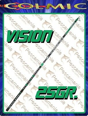 Canna colmic Vision 250 bolognese carbonio casting 25 gr mt 4, 5, 6