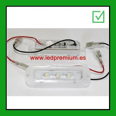 2x LED NUMBER PLATE LIGHTS MERCEDES BENZ G500 G55 G550 W463 CANBUS