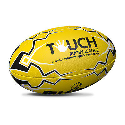 Orange Touch Rugby League Rugby Ball