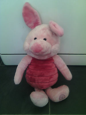 "Disney 16"" Piglet From Winnie The Pooh Soft Plush Toy"