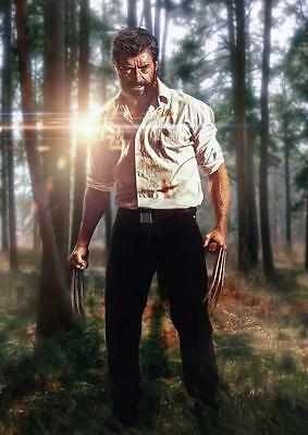 LOGAN POSTER Wolverine Marvel Movie X Men Print Photo Wall Art Poster A3 A4