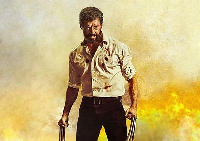 LOGAN POSTER Wolverine Marvel X Men Movie Print Photo Wall Art Poster A3 A4