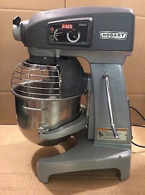 Nice Hobart Hl200 Mixer With New Oem Bowl And New Pizza Dough Hook Used Whisk