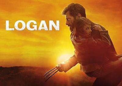 LOGAN POSTER Wolverine X Men Movie Marvel Print Photo Wall Art Poster A3 A4